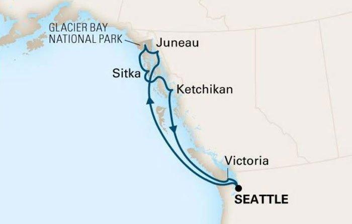 2018 Wenatchee Senior Center Alaska Cruise